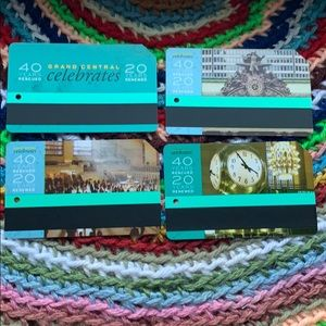 Grand central new Metrocards